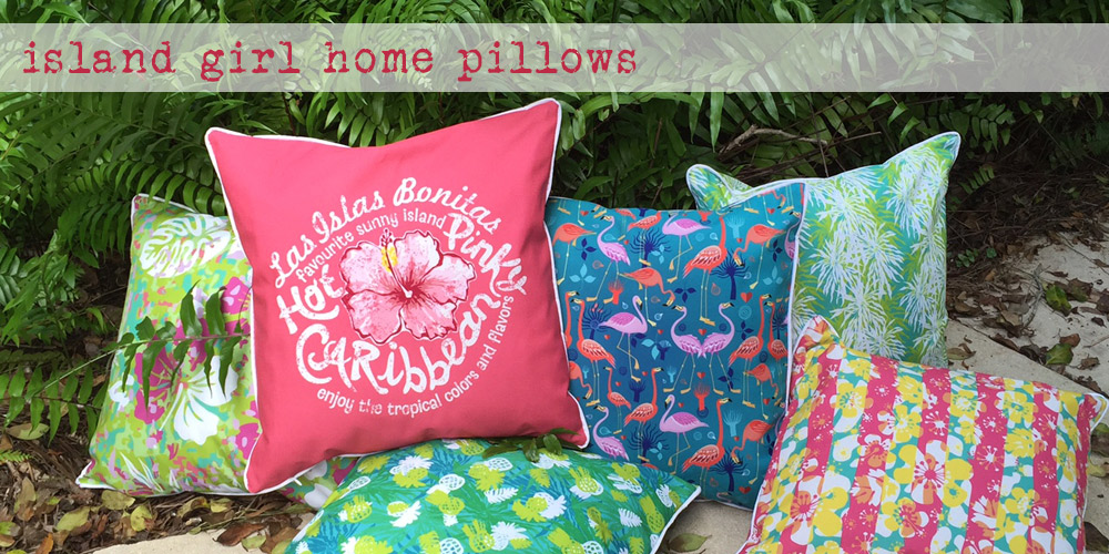 Island Girl Home Pillows