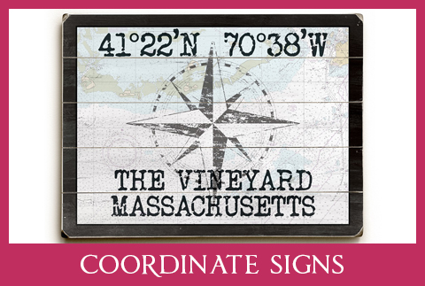 COORDINATE SIGNS