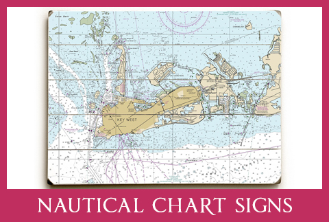 NAUTICAL CHART SIGNS