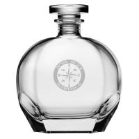 Custom Coordinates Compass Rose NSEW Puccini Decanter