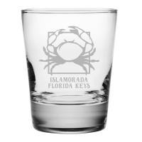 Personalized Crab DOF Glasses S/4