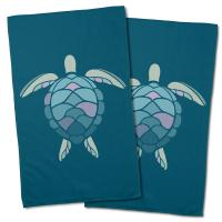 Andros Sea Turtle Hand Towel (Set of 2)