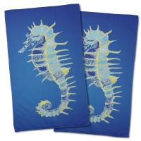 Majestic Seahorse Hand Towel (Set of 2)