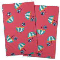 Umbrellas & Beach Balls Hand Towel (Set of 2)
