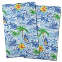 Hawaiian Surf Hand Towel (Set of 2)