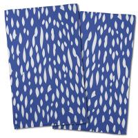 Hipster Cobalt Hand Towel (Set of 2)