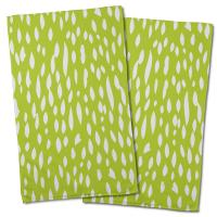 Hipster Lime Hand Towel (Set of 2)