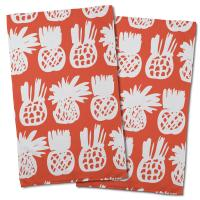Pineapple Parade Hand Towel (Set of 2)