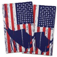 Sailfish Americana Hand Towel (Set of 2)