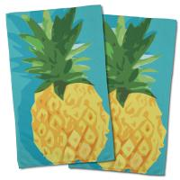 Summer Pineapple Hand Towel (Set of 2)