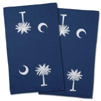 South Carolina Flag Hand Towel (Set of 2)
