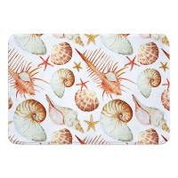 Key Biscayne Shell Toss Memory Foam Bath Mat