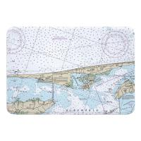 NC: Duck, Southern Shores, Kitty Hawk, Kill Devil Hills, Nags Head, NC Memory Foam Bath Mat
