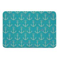 Amelia Anchor Memory Foam Bath Mat