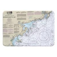 MA: Massachusetts Bay North Memory Foam Bath Mat