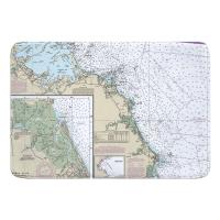 MA: Massachusetts Bay South Memory Foam Bath Mat