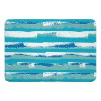 Ocean Currents Memory Foam Bath Mat