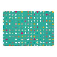 Diamonds Confetti Memory Foam Bath Mat