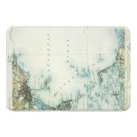 MA: Boston Bay, MA (1903) Map Memory Foam Bath Mat