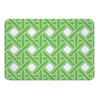Key Largo Passport Green Memory Foam Bath Mat