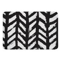 Grand Bahama Drifter Black Memory Foam Bath Mat