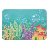 Sea Bed Memory Foam Bath Mat