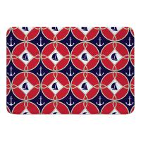 Sailboats & Anchors Memory Foam Bath Mat