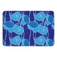 Nautilus Float Memory Foam Bath Mat
