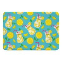 Lemonade Memory Foam Bath Mat