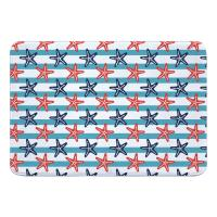 Sanibel Starfish Memory Foam Bath Mat