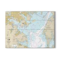 MD: Chesapeake Bay; Approaches to Baltimore Harbor, MD Nautical Chart Sign