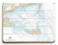 MA: Nantucket Sound and Approaches, MA Nautical Chart Sign