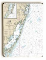 DE: Fenwick Island to Chincoteague Inlet, DE-MD-VA Nautical Chart Sign