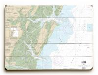 GA: Sapelo & Doboy Sounds, GA Nautical Chart Sign