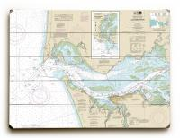 OR-WA: Columbia River; Pacific Ocean to Harrington Point, OR-WA Nautical Chart Sign