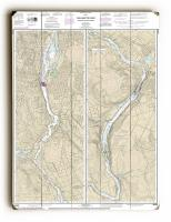 OR: Willamette River; Portland to Walnut Eddy, OR Nautical Chart Sign