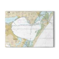 TX: Corpus Christi Bay, TX Nautical Chart Sign