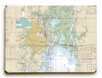 AL: Mobile, AL Nautical Chart Sign
