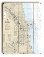 IL: Chicago, IL Nautical Chart Sign