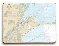 OH: Toledo Harbor, OH Nautical Chart Sign
