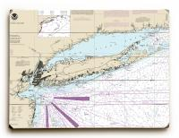 NY: Long Island, NY Nautical Chart Sign