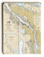 OR: Portland, OR Nautical Chart Sign