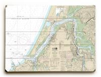 OR: Coos Bay, OR Nautical Chart Sign