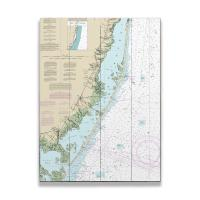 NJ: Long Beach Island, NJ Nautical Chart Sign