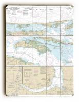 NC: Cape Henry to Pamlico Sound, NC Nautical Chart Sign