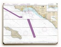 CA: San Pedro Channel, CA Nautical Chart Sign