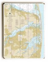 NJ: Navesink and Shrewsbury Rivers, Redbank, Rumson Neck, NJ Nautical Chart Sign