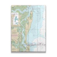GA: Cumberland Island, GA Nautical Chart Sign