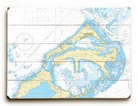 Eastern and Western Approaches to The Narrows, Bermuda Nautical Chart Sign