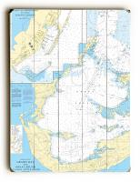 Grassy Bay and Great Sound, Bermuda Nautical Chart Sign